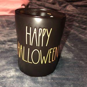 Rae Dunn Happy Halloween Candle